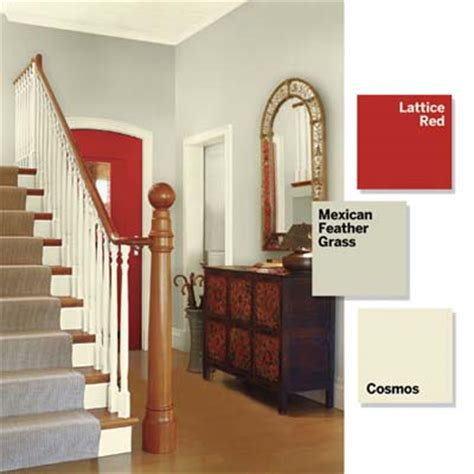 bold paint colors for small spaces entry foyer add a single accent 3 small spaces 9 bold color ideas this old house