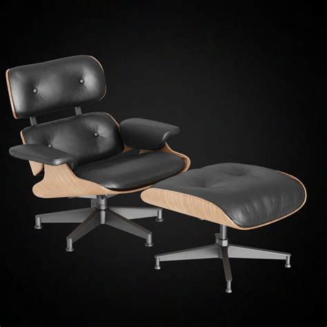 eames lounge chair 3d model models for