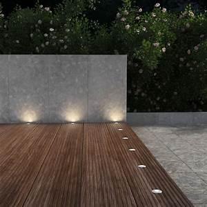 led einbaustrahler aussen produktergleiche neu With französischer balkon mit bodenleuchten garten led