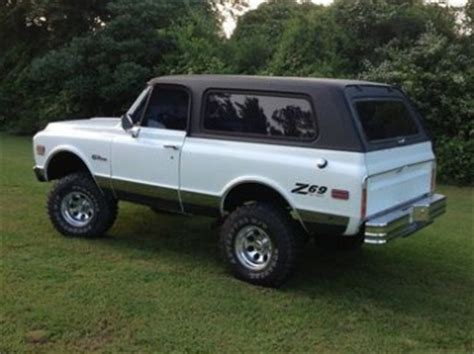 Find Used 1969 Chevrolet K5 Blazer Offroad 4x4 White