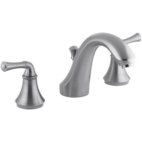 home depot kohler kitchen faucet forte kohler forte 8 in 2 handle bath mount deck mount bathroom