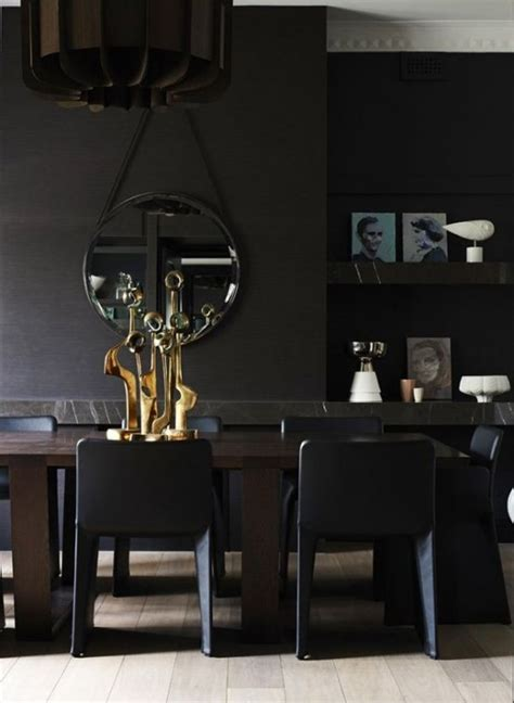 Using Gold Accents In Interior Design by Impressive Black Interior Design With Gold And Orange