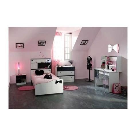 chambre fille 4 pi 232 ces avec bureau disco et blanche achat vente chambre complete pas