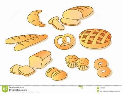Bread Clipart Clip Bakery Royalty Cartoon Pastry