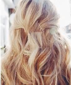 Blonde Bobby Pins Hair