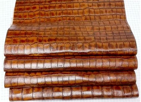 Cowhide Leather Fabric by Quality Genuine Brown Layer Of Cowhide Leather