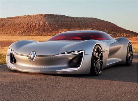 Renault Concept by Renault Trezor Sports Coupe Concept Leaked Updated