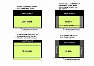 16 9 Format Berechnen : leinwand 21 9 beamer leinwand leinwandformate tv hifi bildergalerie ~ Themetempest.com Abrechnung