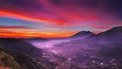 Indonesia Nature Landscape Mountains Desktop Wallpapers Resolution
