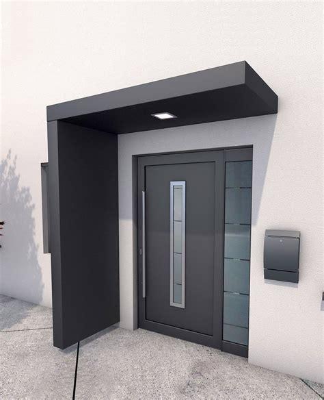 vordach hauseingang mit seitenteil gutta vordach set 187 bs 200 171 200 cm mit seitenteil aluminium anthrazit kaufen otto