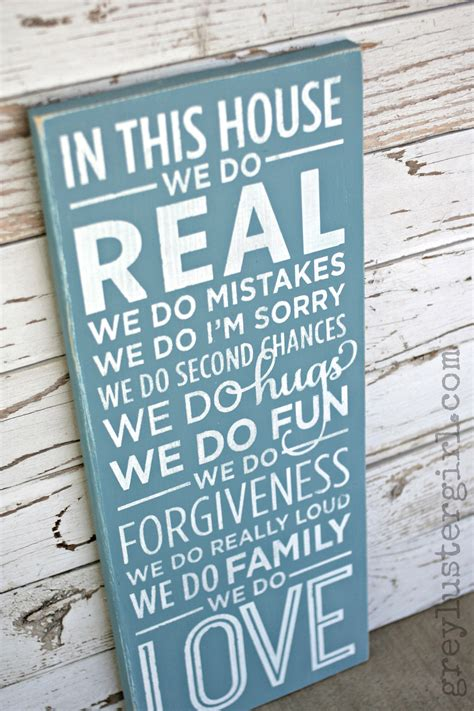 house   family wood sign tutorial