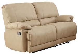 elsie double reclining loveseat 9713nf 2 homelegance