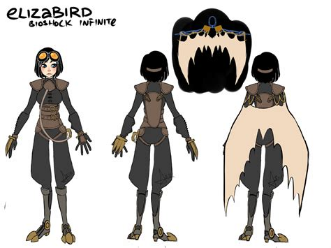 Bioshock Infinite Songbird Elizabeth By Starexorcist On