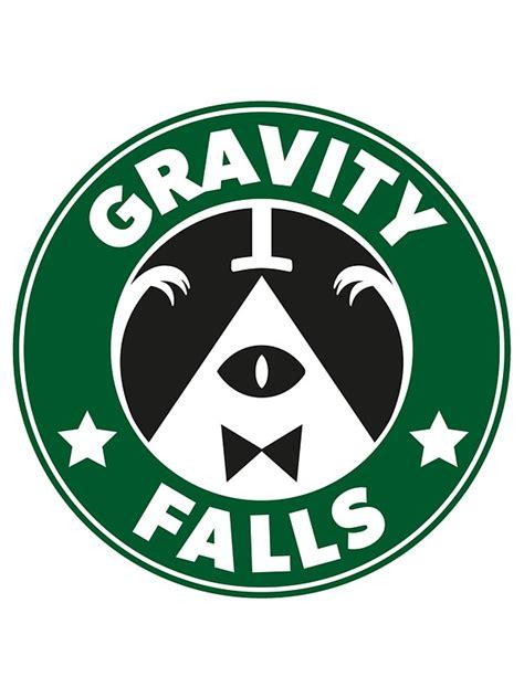 sticker x stiker laptop quot gravity falls starbucks quot stickers by king zanziba