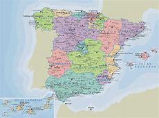 Carte Espagne Images et Photos Arts et Voyages