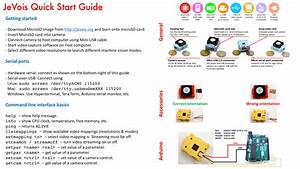 Jevois  Quickstart User Guide