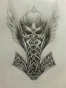 Norse Mythology Tattoo Designs Drawings