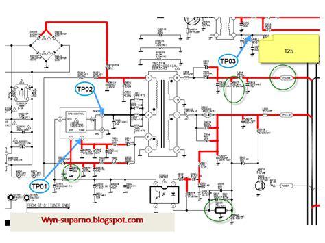 ingin berbagi ilmu dan pengalaman contoh regulator tv dengan 5q0765