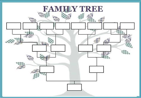 Family Tree Templates For Mac by Blank Family Tree Template For Mac Templates Resume