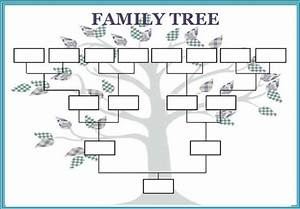 blank family tree template for mac templates resume With family tree template for mac