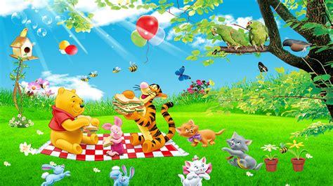 cartoon tigger piglet  winnie  pooh picnic summer