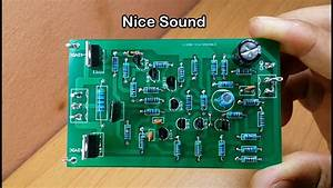 How To Make Stereo Amplifier Using By Transistors D718 And B688