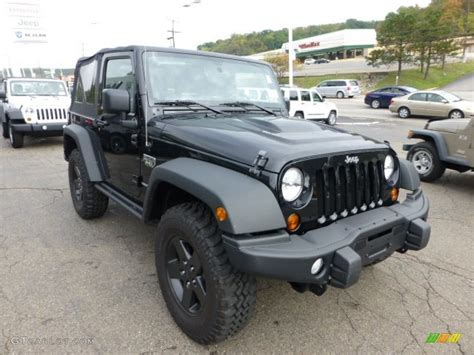 Black 2018 Jeep Wrangler Call Of Duty Mw3 Edition 4x4
