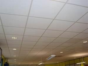 Dalles De Plafond A Coller : dalle de faux plafond isolante thermique comment isoler un mur oeufenpoudre ~ Nature-et-papiers.com Idées de Décoration