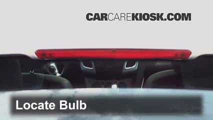 Brake L Bulb Fault Ford Focus 2016 by Third Brake Light Bulb Change Ford Focus 2012 2016