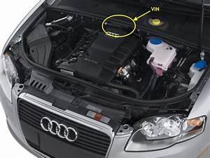Localizzazione Telaio  Presa Diagnosi  Vin Audi A4 8ex  2001-8