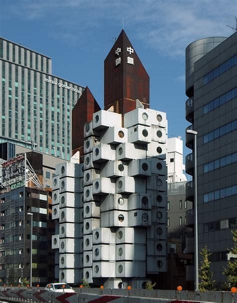 NAKAGIN CAPSULE TOWER: Kisho Kurokawa, Tokyo, Jun. 1972 ...