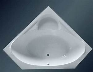 53 Inch Large Corner Bathtub 1350mm