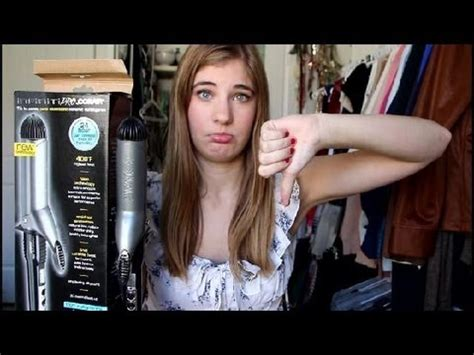 Review: Conair Infiniti 1 1/2 Curling Iron - YouTube