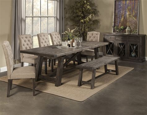 newberry dining table   chairs bench