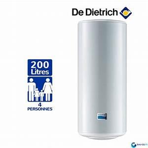 Chauffe Eau Electrique 200 Litres : chauffe eau lectrique de dietrich ces 200l ~ Edinachiropracticcenter.com Idées de Décoration