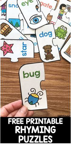 rhyming images rhyming activities kindergarten