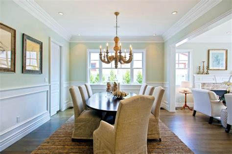 Dining Room Decorating Ideas With Chair Rail