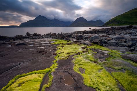 scotland landscape photographs highlands stunning cuillin mountains sunset stormy locations