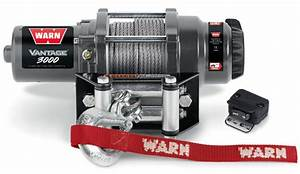 Warn Vantage 3000 Winch - Devon 4x4