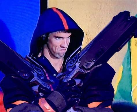 michael phelps dive angry michael phelps photoshopped into overwatch
