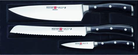 Wusthof Classic Ikon 3 Piece Knife Set 9601-1