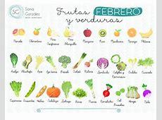 Frutas y verduras de Febrero Sonia González ~ Dietista