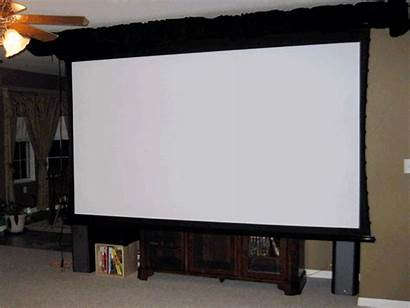 Screen Theater Down Elite Electric Ht Pulled
