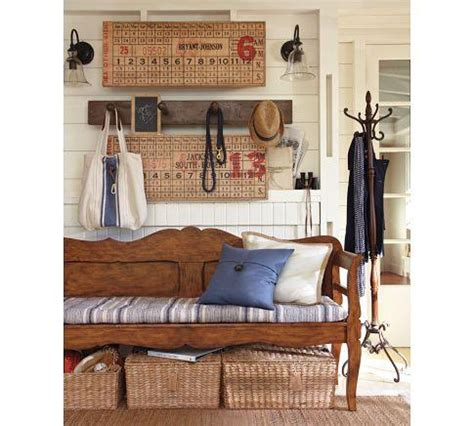 Darby Entryway Bench  Pottery Barn