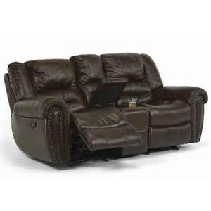 flexsteel loveseats downtown 1710 60 br reclining from haney s