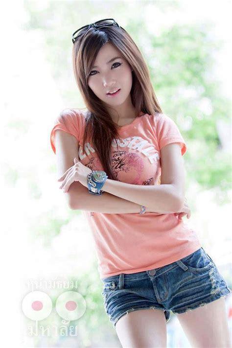 タイ女子大生 パッツン写真 On Twitter モデルやプリティコンパニオンは、パッツン姿でない時も綺麗