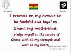 Ghana Patriotic Songs I Promise on My Honour YouTube