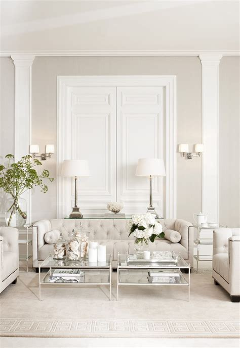 Decorating Ideas For Living Room With White Furniture by Color Trends Neutral Decorating Ideas