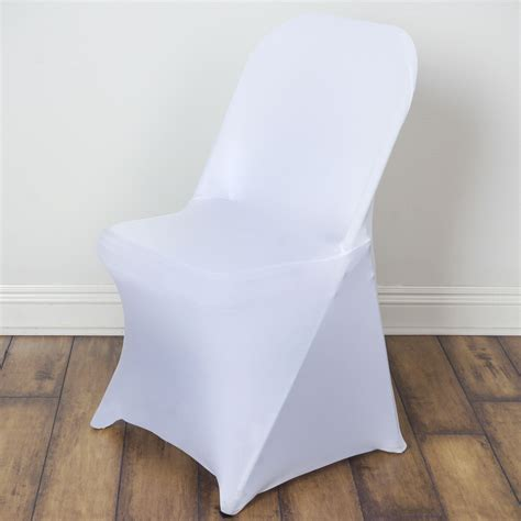 10 spandex folding chair covers stretchable fitted wedding