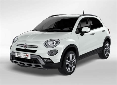 Fiat 500x Cross (2018) Couleurscolors